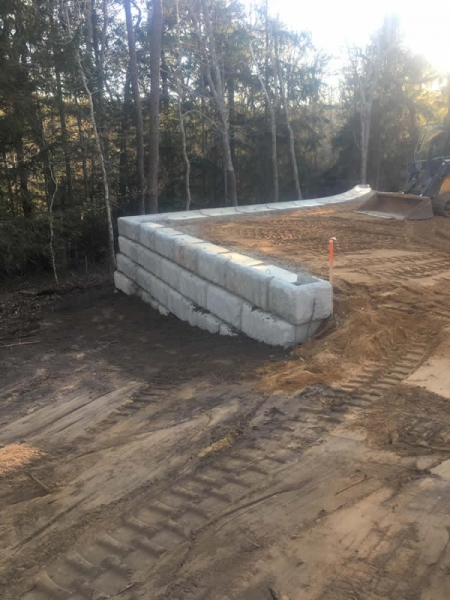 Retaining Walls Cape Cod Excavating Foundation Services